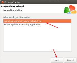 New virtual drive
