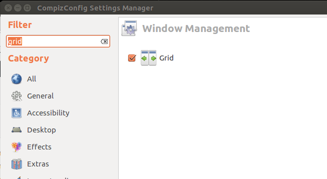 Compiz Config Settings Grid
